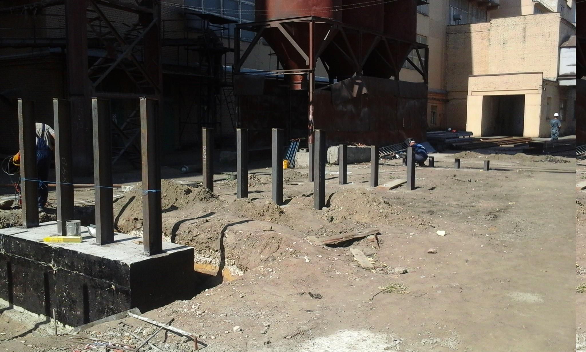 Цена на демонтаж металлоконструкций и оборудования